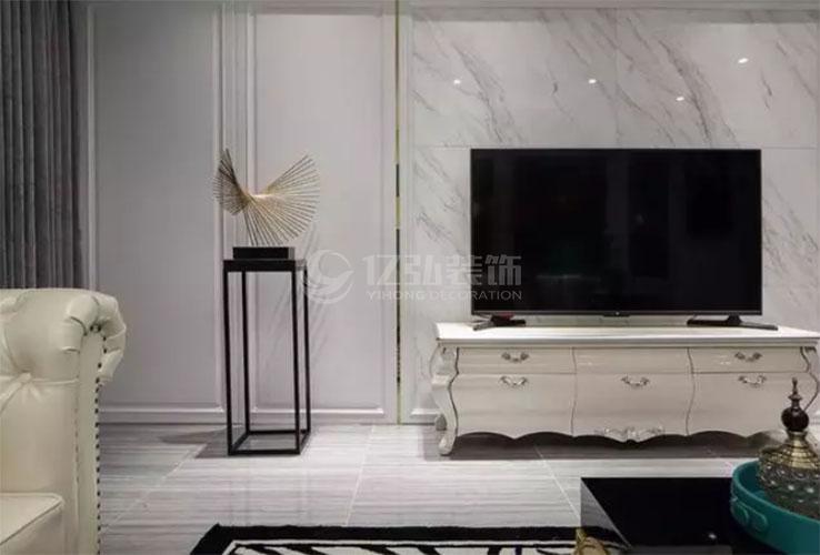 盘点时下最流行的大理石电视背景墙!