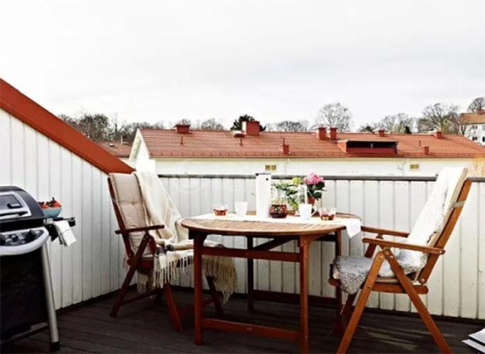 襄阳装修案例阳台装修效果图,几组楼顶露台花园设计参考!