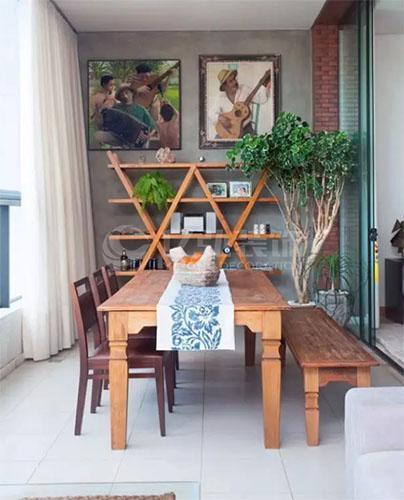 襄阳装修案例几款阳台装修效果图,阳台除了可以当阳台还可以当餐厅!