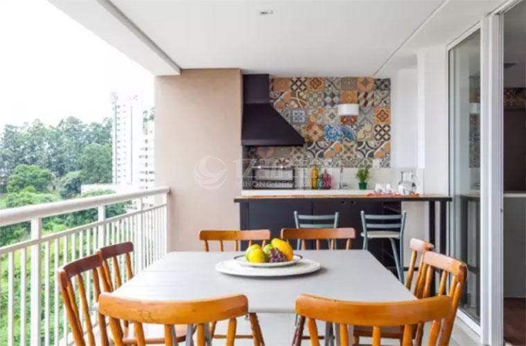 几款阳台装修效果图,阳台除了可以当阳台还可以当餐厅!