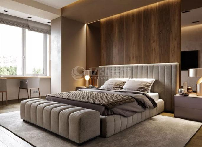 襄阳装修案例轻奢高清卧室装修效果图,时尚又大气!