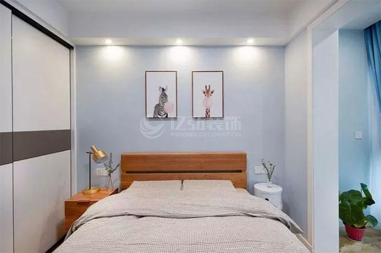 襄阳装修案例简约温馨风卧室装修效果图,温馨舒适才是真!