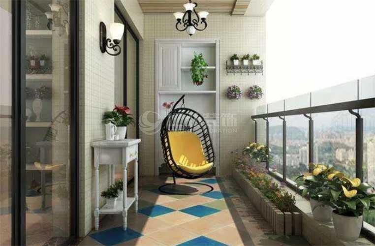 襄阳装修案例阳台装修效果图大全!看完你就知道家里阳台该怎么装啦!