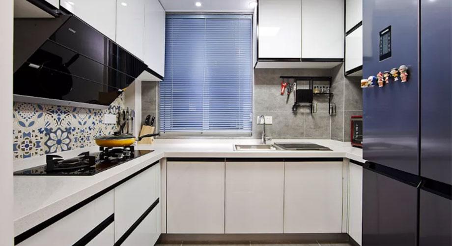 厨房装修效果图:不挑户型的几款厨房设计,总有一款适合你!