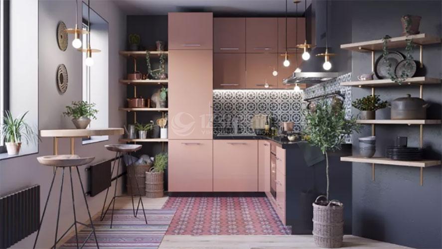 襄阳装修案例厨房装修效果图大全!