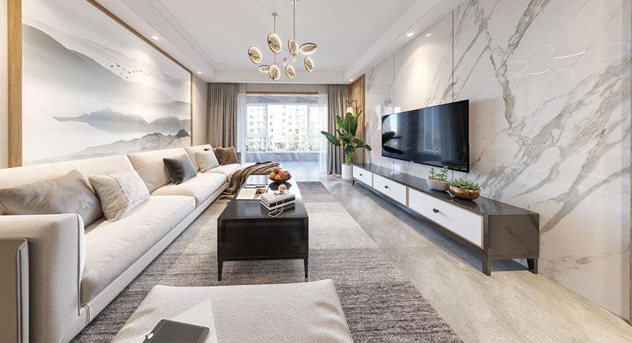 襄阳装修汉水华城御苑140平米四室两厅日式风格装修效果图!