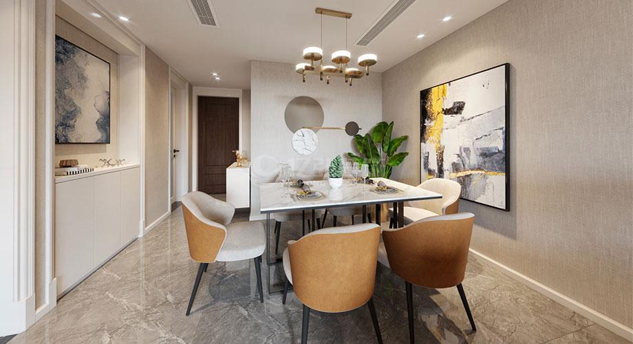 襄阳装修案例襄阳装修民发天地90平米两室两厅现代风格装修效果图!