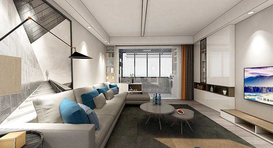 襄阳装修东津世纪城130平米新房装修,北欧风格尽显自然与浪漫!