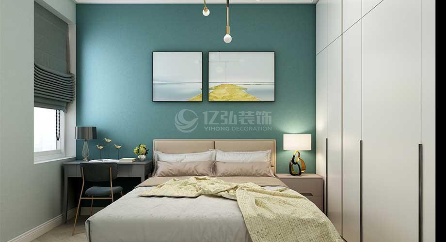 襄阳东津世纪城80平米现代风格两室装修,小户型也能装出大天地!