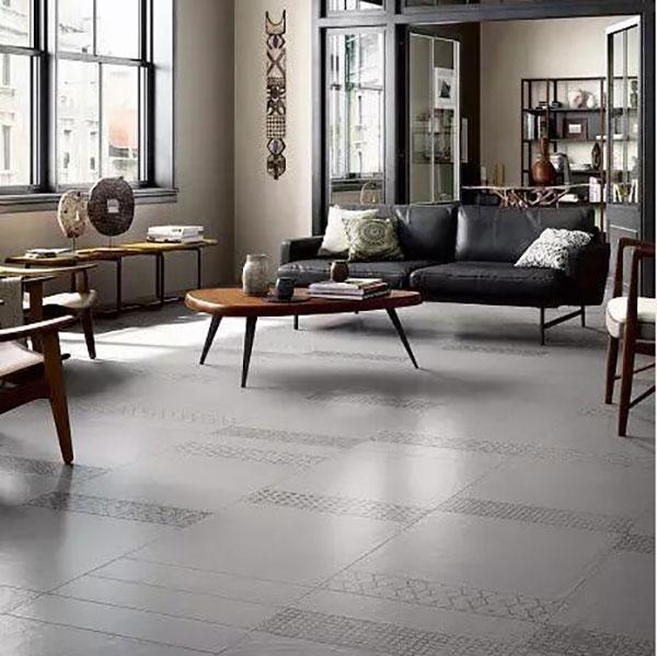 客厅该铺什么样的瓷砖?这样选就对了!