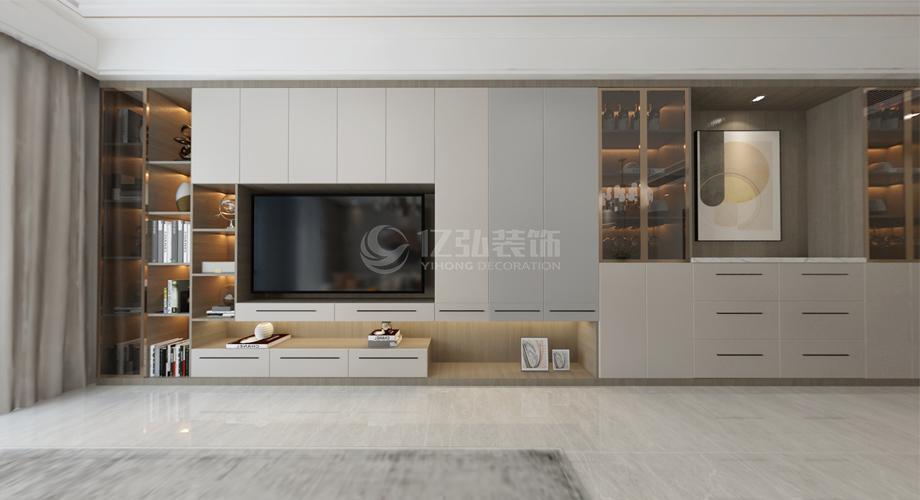 襄阳骧龙国际二期110平现代轻奢风格家装案例鉴赏!