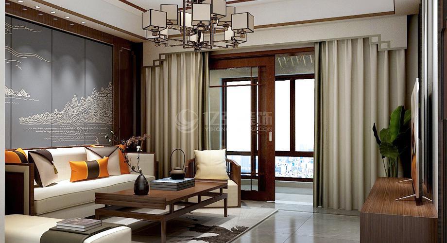 襄阳装修案例襄阳骧龙国际二期210平新中式复式家装案例鉴赏!