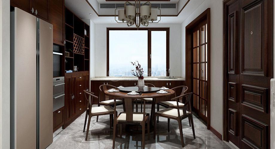 襄阳骧龙国际二期210平新中式复式家装案例鉴赏!