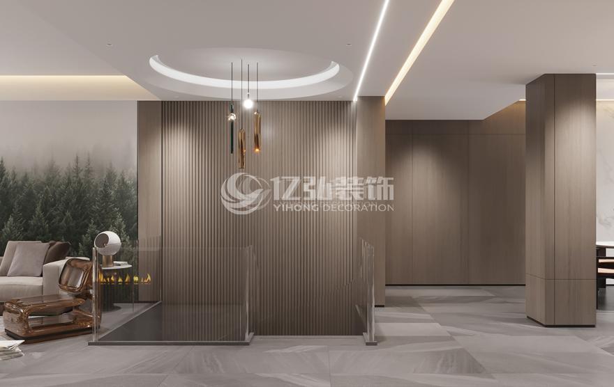 襄阳装修案例骧龙国际三期352平别墅案例鉴赏