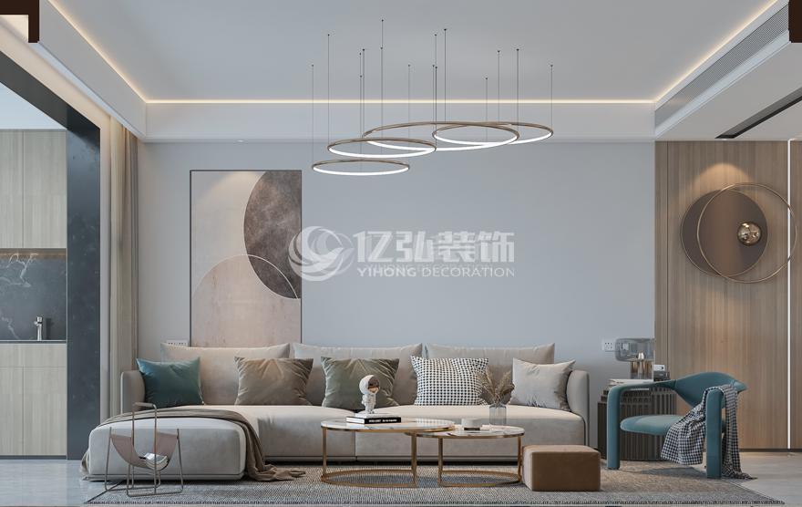 吾悦广场140平现代轻奢风格案例鉴赏!