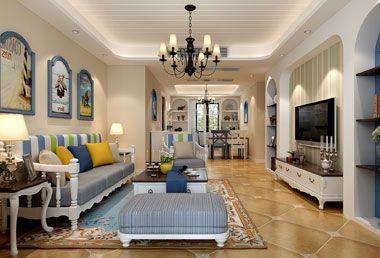 襄阳装修案例140平米四室两厅美式风格