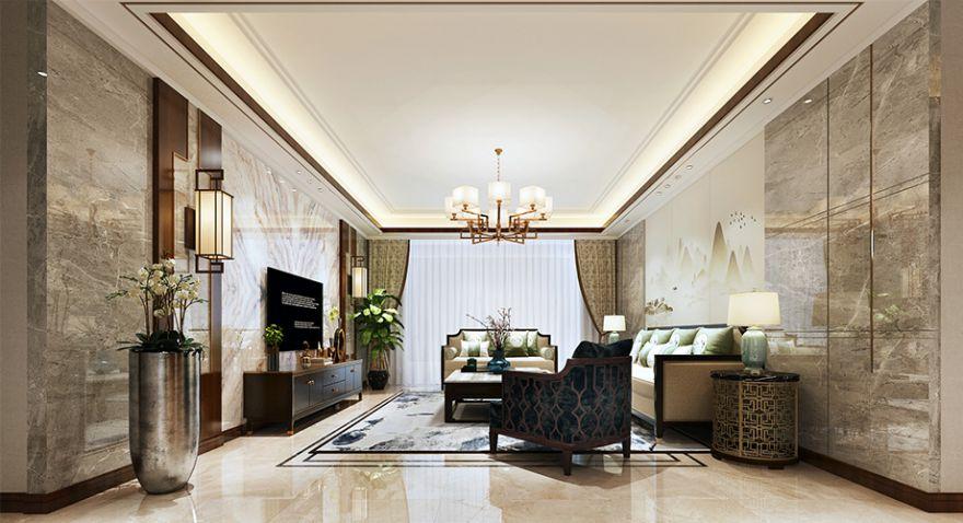 襄阳九街十八巷208平米四室两厅新中式风格大宅,优雅而极富韵味!