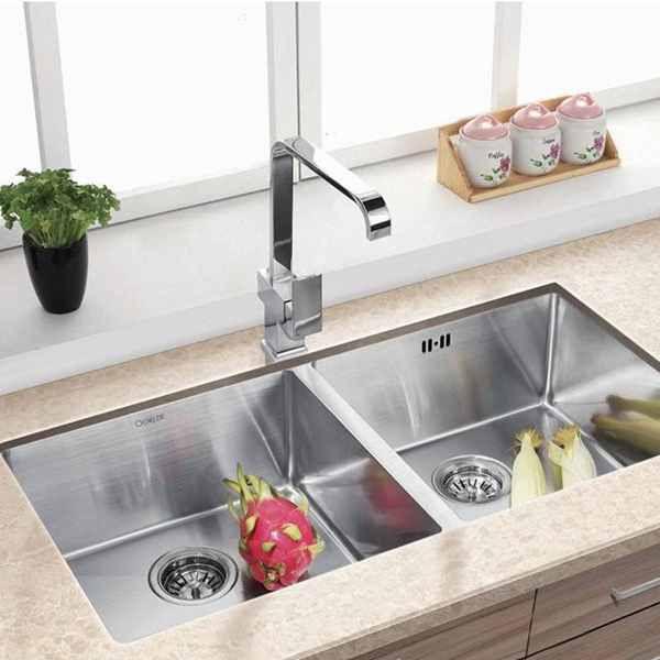 厨房不锈钢台下盆