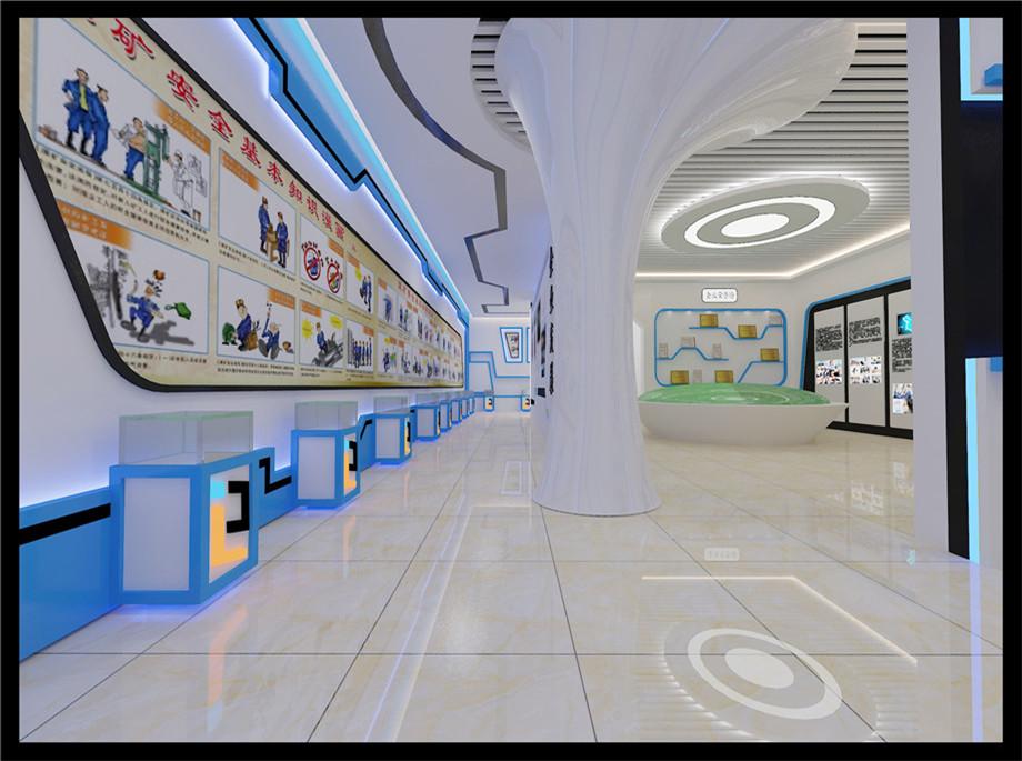榆林裝修案例榆林500展廳