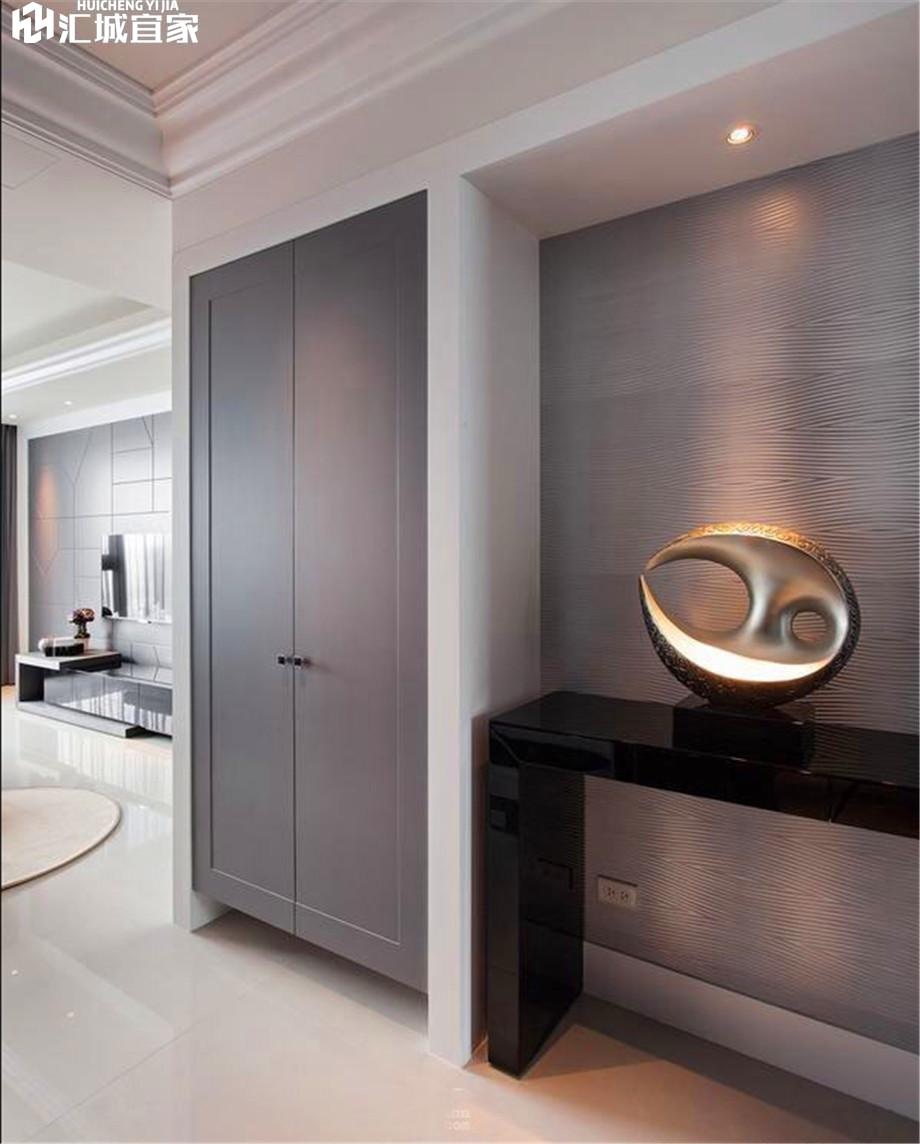 绵阳西界莎拉家装案例-现代简约风装修76平米