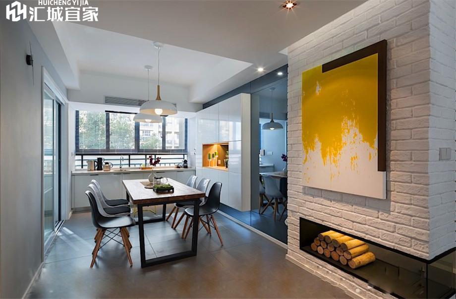 绵阳家装案例-长虹国际城-北欧风格90平米