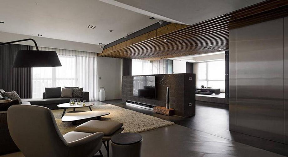 现代简约  三居室-3