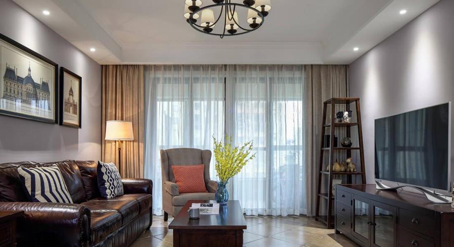 现代风格  两居室