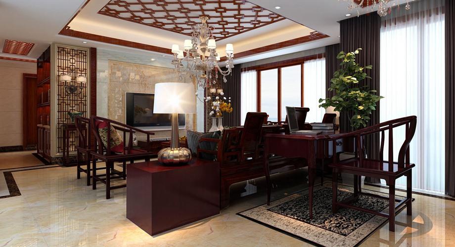 中式风格  三居室