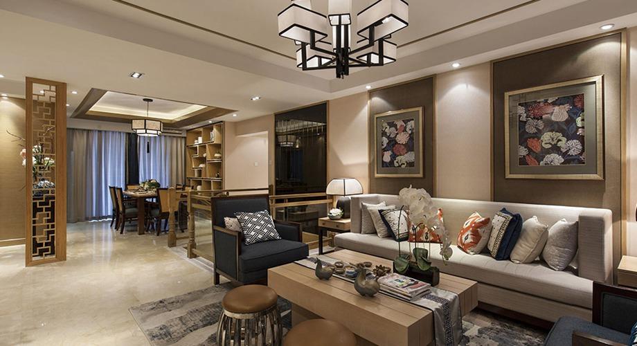 中式风格 三室两厅