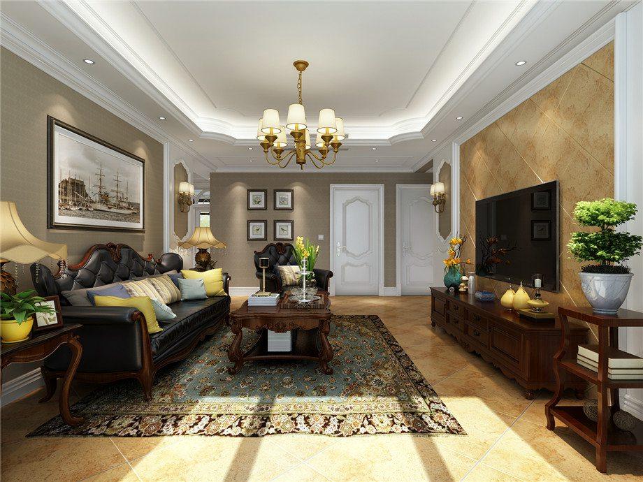 别墅200平米 美式风格