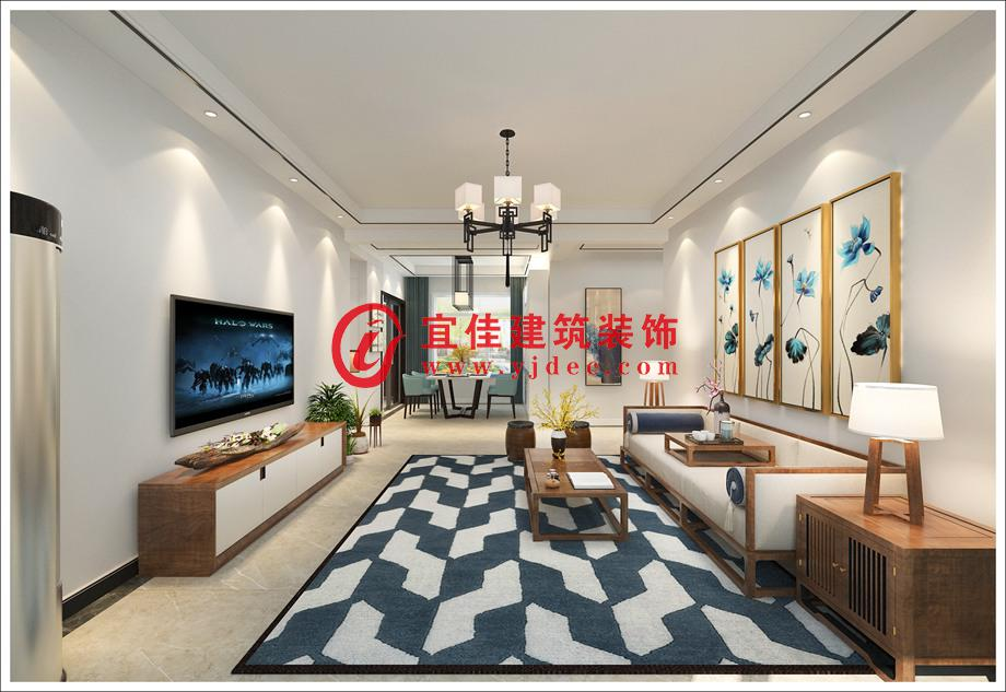 新中式风格 142平米