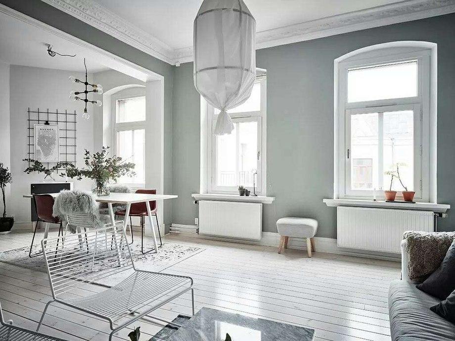 绵阳家装案例-紫玉叁号-北欧风格 107平