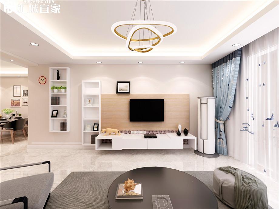 绵阳家装案例长虹天樾-现代简约 120平米
