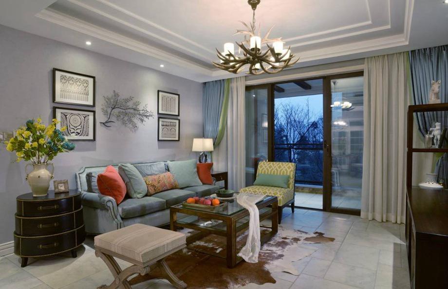 美式风格 三居室