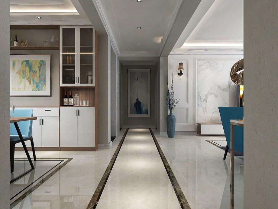 南通裝修案例世倫佳苑10樓-現代風格120㎡