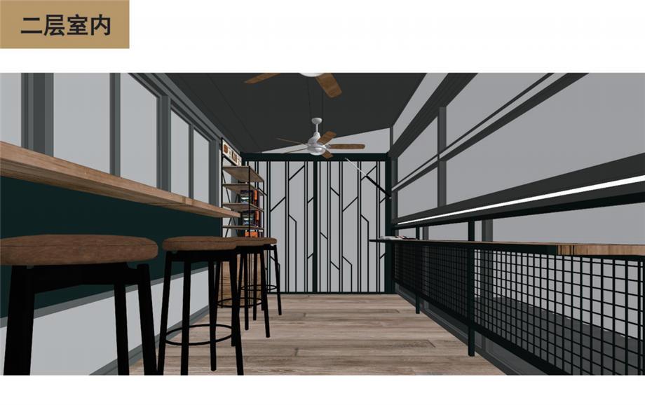 廣州裝修設計師茶極限奶茶店