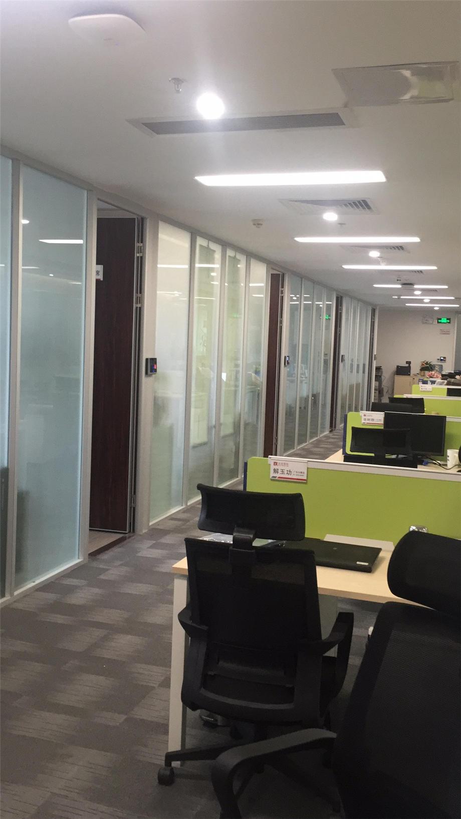 廣州裝修案例達安辦公室