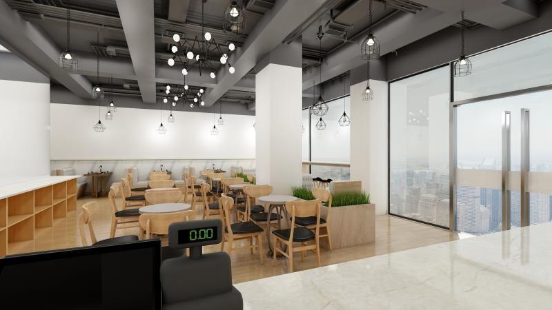 廣州裝修案例好彩米芝蓮茶餐廳