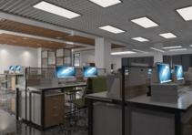 為什么辦公室設計空間配色不超過三種