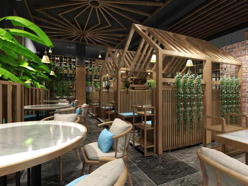 特色的餐廳裝修具有哪些明顯的優勢特征?