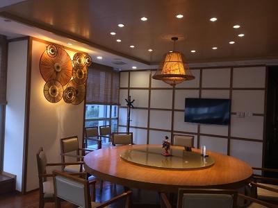 廣州裝修設計師體育中心日本料理館