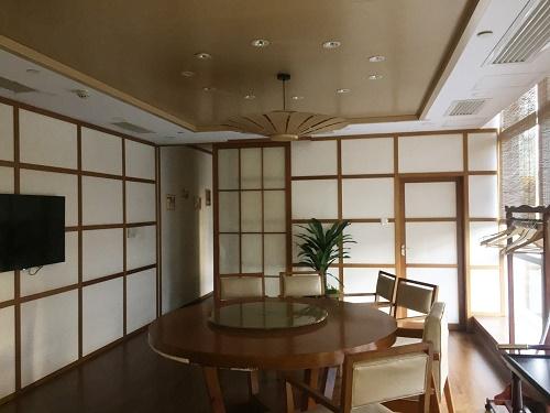 廣州裝修案例體育中心日本料理館