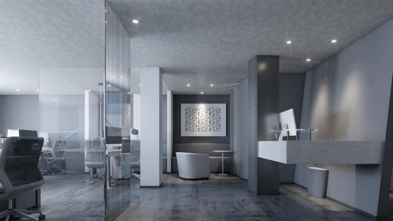 廣州裝修設計師簡潔辦公室