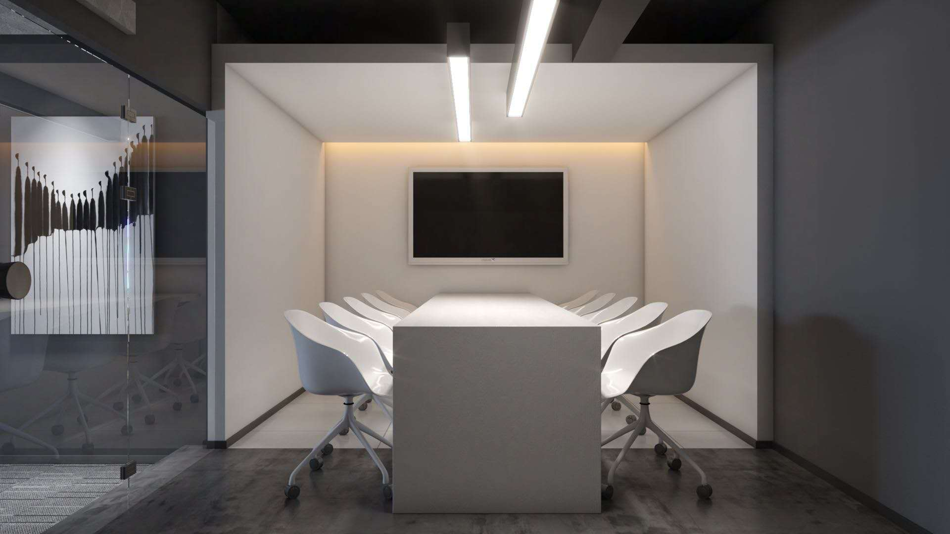 簡潔辦公室