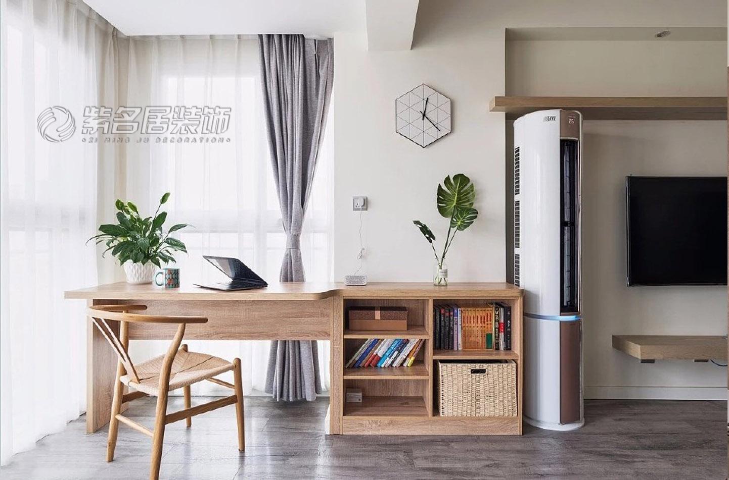 98平米北欧两居室,实用性很强!