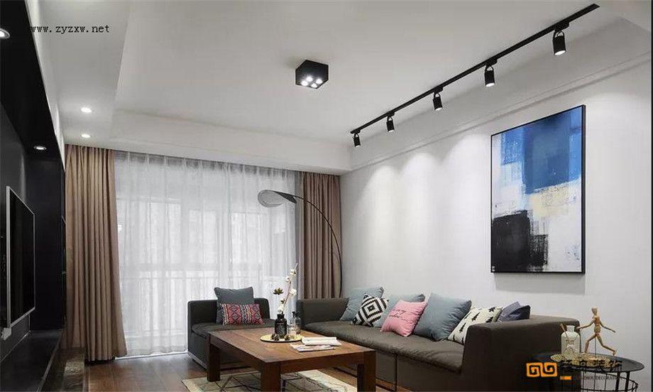 遵義裝修案例中建 幸福城120m現代簡約休閑大氣!