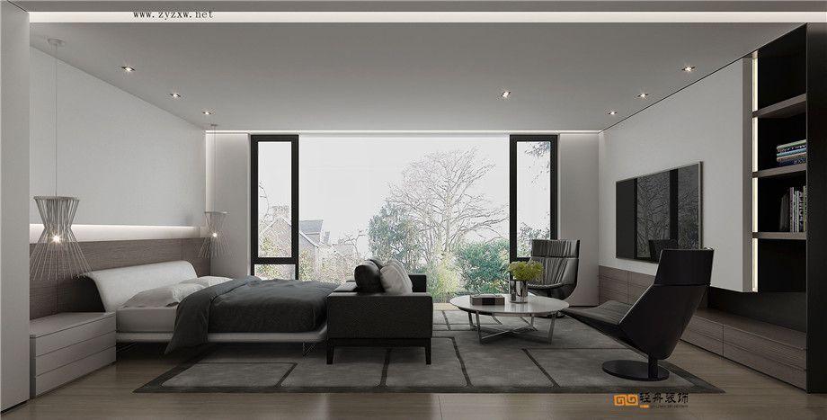 遵義裝修案例鳳嶺莊園 | 現代黑白灰風格裝修設計