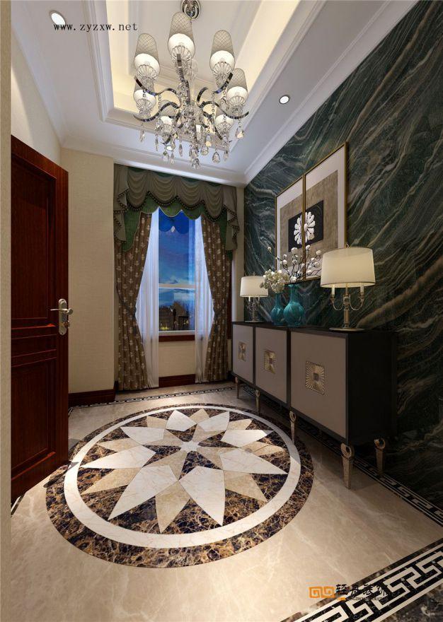 凱萊國際 別墅新中式風格效果圖