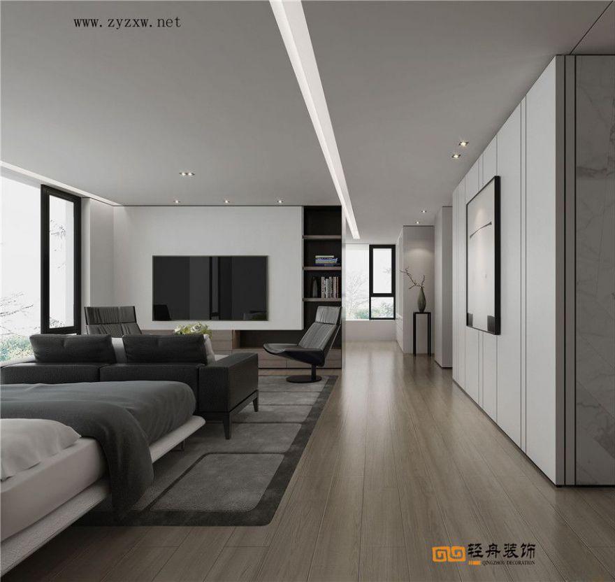 鳳嶺莊園   現代黑白灰風格裝修設計