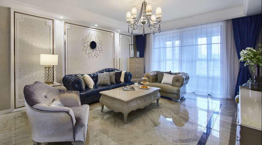 105坪米新古典中式三居